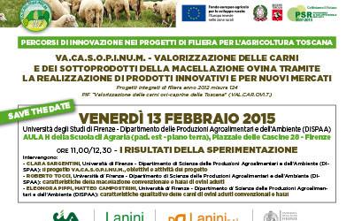 13 febbraio 2015, seminario del progetto VA.CA.S.O.P.I.NU.M. a Firenze